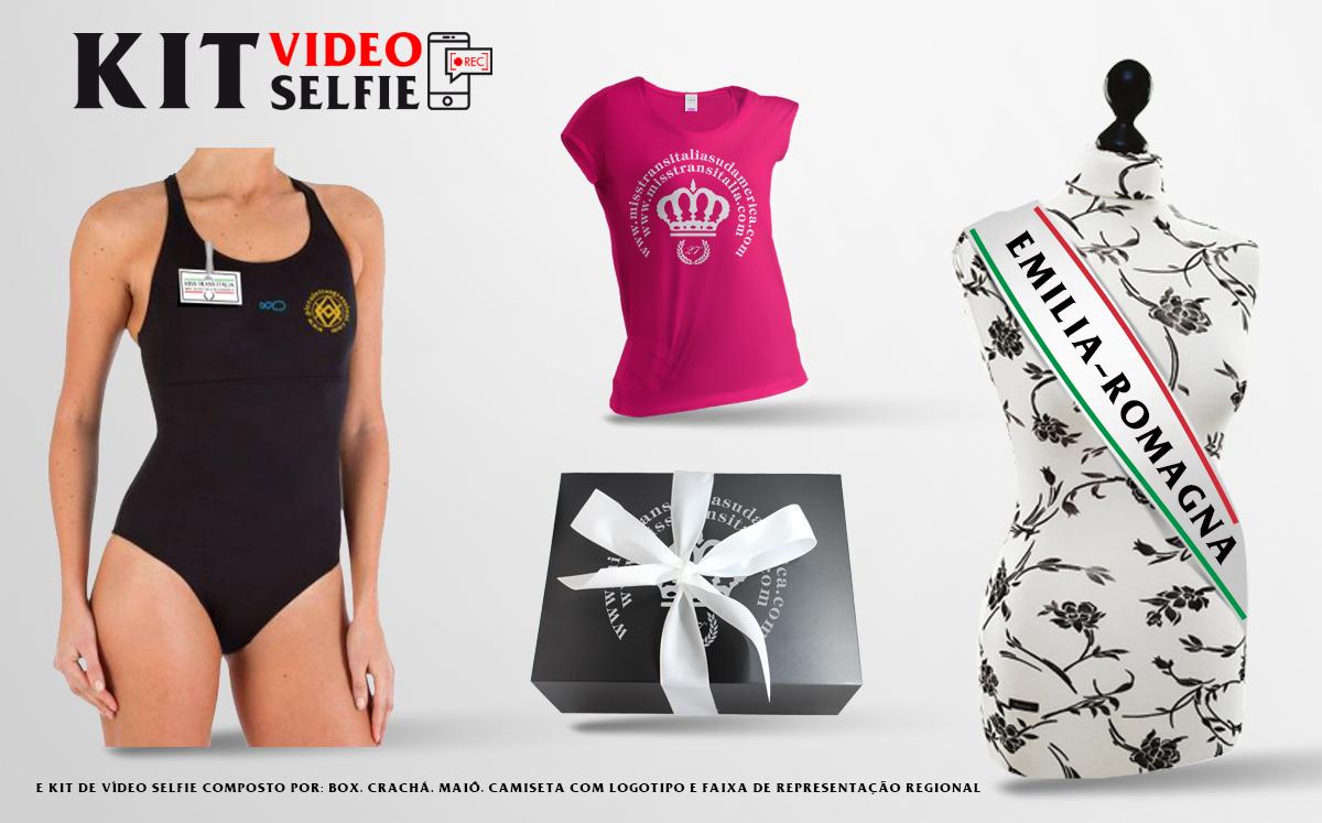 kit video selfie brasiliano emilia-romagna