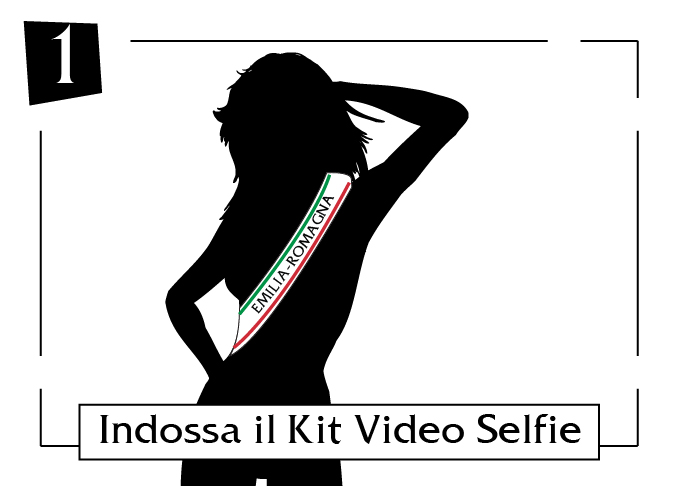 Indossa il tuo kit video selfie Emilia-Romagna